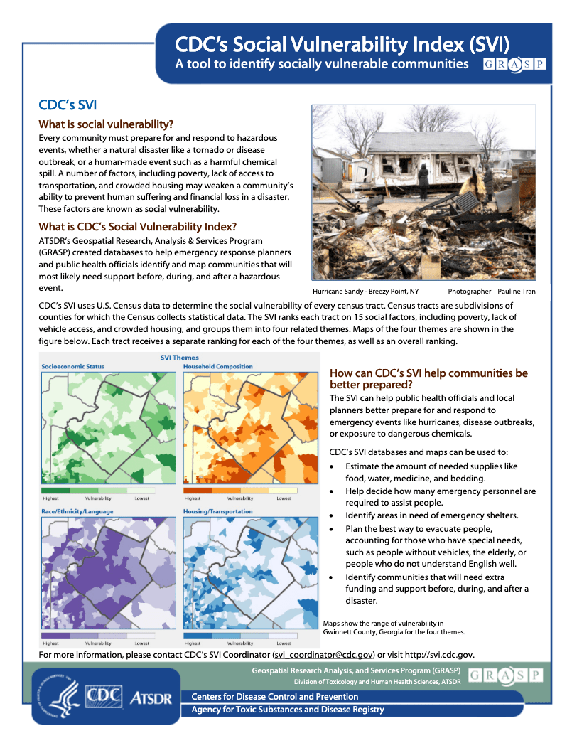 Natural Hazards Center    Suggested Tools